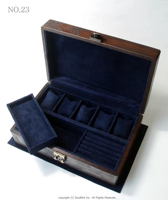 ソウルバードの時計ケースの内装加工No.23