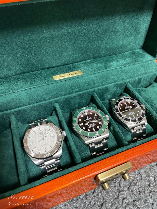 ロレックスと時計ケース